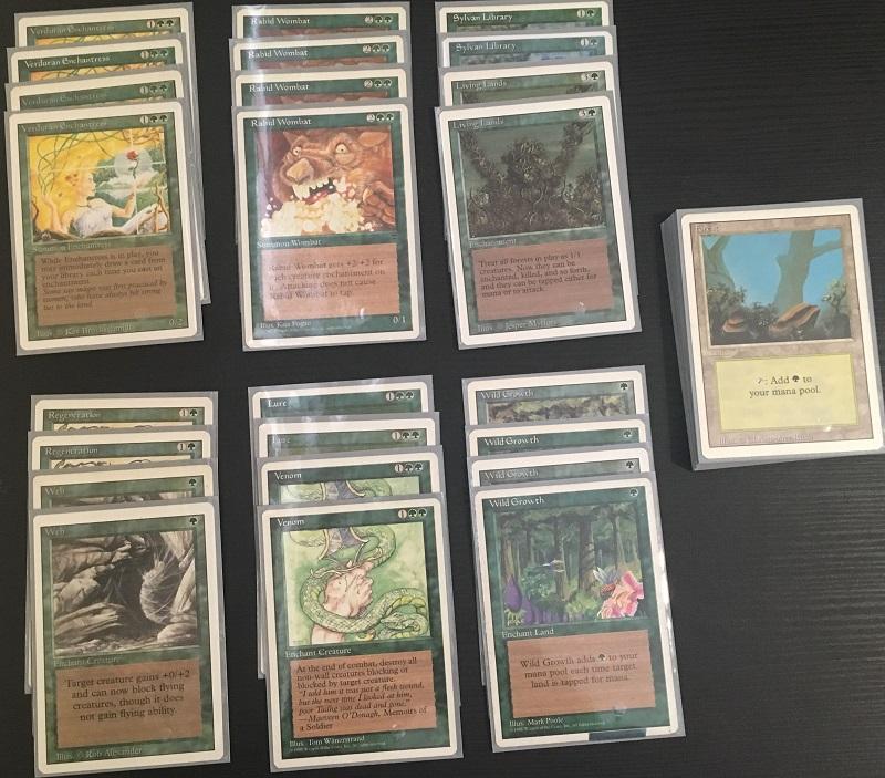 Green Deck: Enchantress